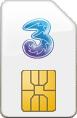 three-Sim-only-card